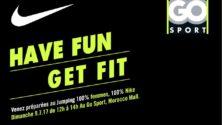 Les dames à l'honneur à la jumping session de Nike au Morocco Mall ce dimanche