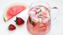 10 boissons hydratantes pour remplacer l'eau cet été