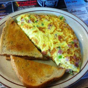 Une bonne omelette