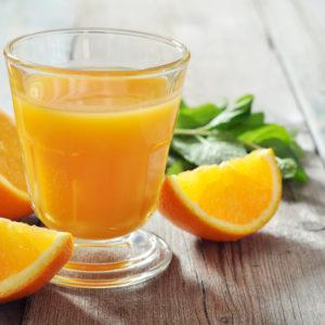 Juste un jus, de préférence d'orange