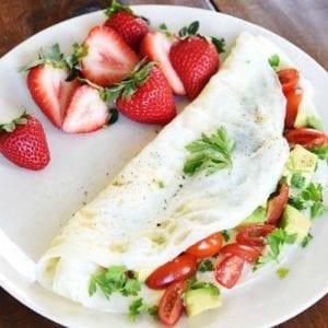 Ce sera une omelette blanche pour moi
