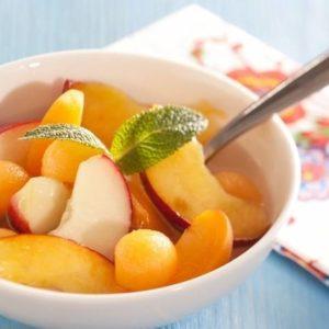 Une salade de fruits