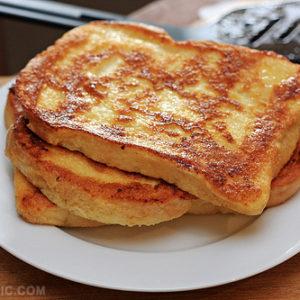 Toasts bien beurrés