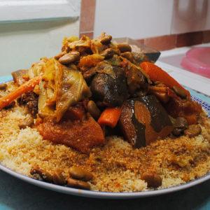 Couscous 7 légumes