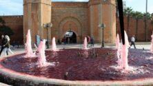 Rabat : La réalité derrière la fontaine pleine de sang qui fait le tour de la toile