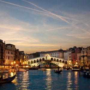 À Venise pour un tour en gondole