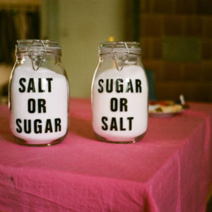 Un mélange de sucré et salé