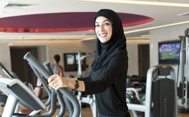 Oujda Une Salle De Sport Pour Femmes Dans Une Mosquee