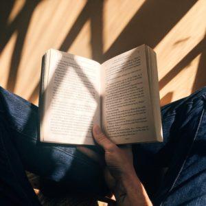 Tu lis quelques pages du livre que tu avais commencé