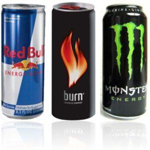 Des boissons énergisantes