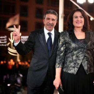 Aziz Saadallah et Khadija Assad