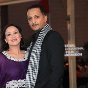Mohamed Marouazi et Sanaa Akroud