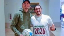 Saad Abid continue à faire la promotion de Morocco 2026 et Zlatan est sa dernière trouvaille
