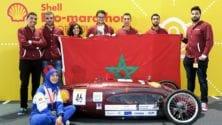 Des étudiants marocains cassent tous les records avec leur voiture à faible consommation