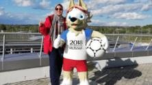 Nous sommes allés à la rencontre de la seule femme marocaine volontaire dans le Mondial 2018 à Kazan en Russie