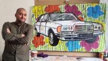 À la découverte de Mouad Aboulhana, cet artiste peintre tangerois qui revisite en couleurs les symboles de la pop culture marocaine et arabe