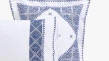 Des parures de lit en Terz Fassi chez Zara Home à partir de 1199 dirhams