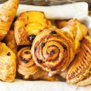 Viennoiseries et croissants