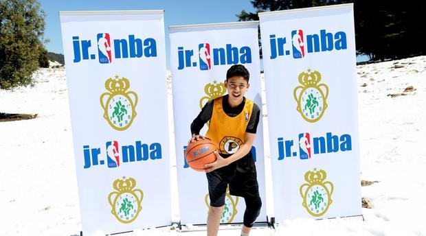 """Résultat de recherche d'images pour """"Ce jeune marocain a tout juste 14 ans et déjà, la NBA l'a repéré"""""""