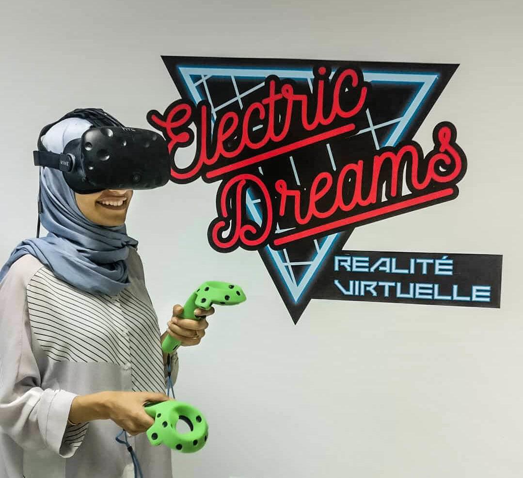 Electric Dreams : Le 1er centre de réalité virtuelle au Maroc vient  d'ouvrir ses portes à Rabat - Welovebuzz
