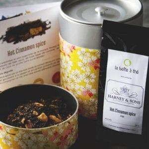 Le thé Harney & Sons chez Yawatcha
