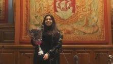Lamya Ben Malek, première Marocaine championne de France de débat