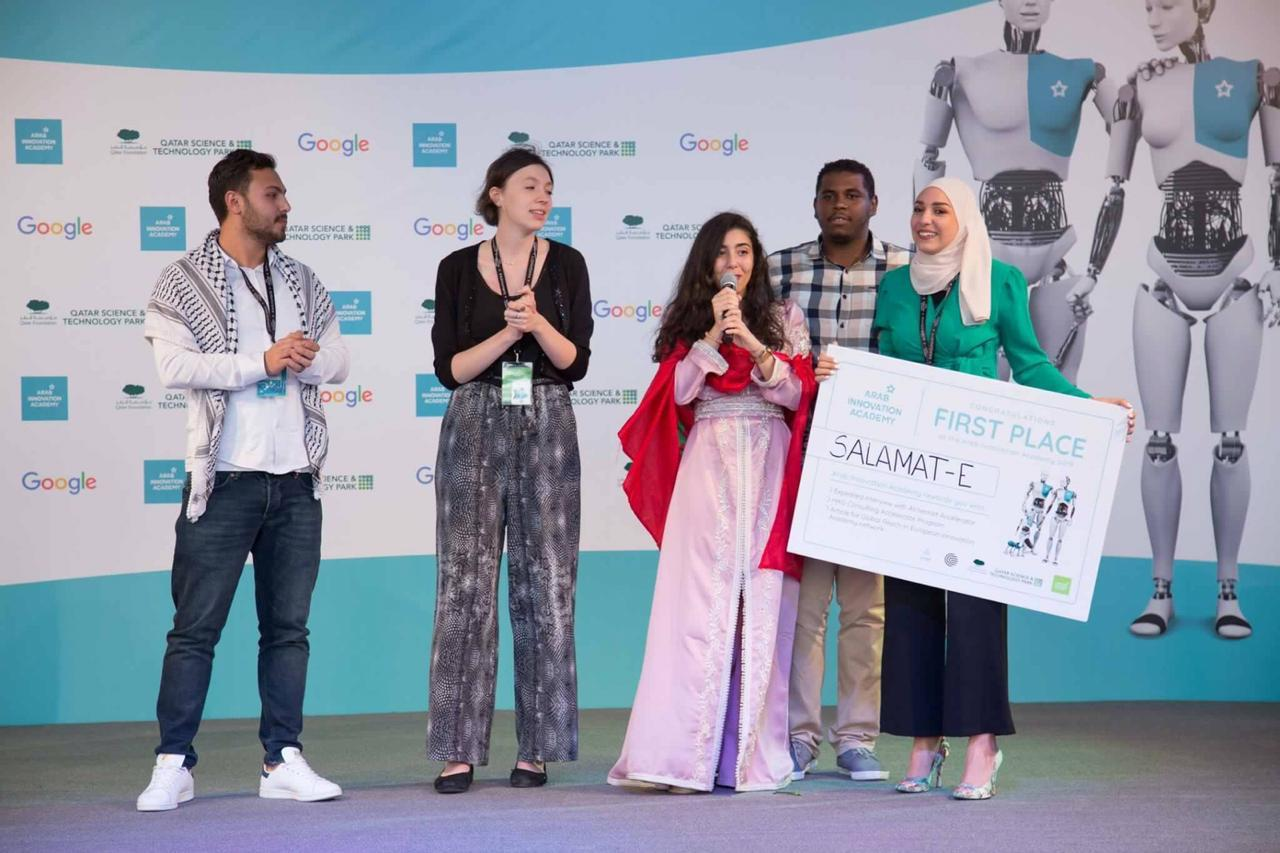 Chaimae El Mahdaoui, cette marocaine de 22 ans qui a remporté le premier prix de l'Arab Innovation Academy