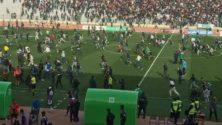 Fraîchement rénové, le stade d'honneur d'Oujda se fait vandaliser