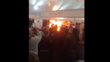 Les flammes ravagent un stand du Salon International du livre de Casablanca