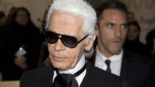 Le Kaiser de la mode Karl Lagerfeld est mort