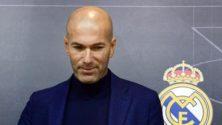 Zinédine Zidane de retour au Real Madrid