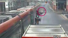 Des vidéos chocs d'accidents de Tram à Casablanca viennent d'être publiées…