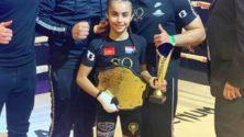 À seulement 9 ans, cette marocaine est championne du monde de kick-boxing pour la troisième fois…