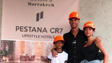 Cristiano Ronaldo supervise les derniers travaux de son hôtel à Marrakech
