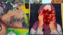 Les marocains s'indignent suite au saccage de deux fresques murales…