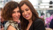 Nisrine Erradi et Loubna Azabal échangent un baiser au Festival de Cannes