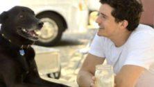 Orlando Bloom garde le squelette de son chien marocain