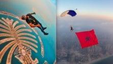 De Khénifra à Dubaï, voici comment Anas Bekkali a remporté 9 records du monde en parachutisme