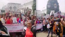 Les marocaines manifestent à Rabat pour plus de sécurité…