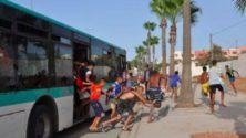 Un mineur conduit un bus et provoque un accident à Casablanca