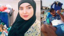 Les marocains prennent des selfies avec les ordures pour alerter les autorités…