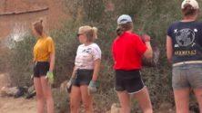 Les marocain(e)s en «short» pour soutenir les bénévoles belges…