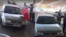 Vidéo: Un marocain fuit les autorités marocaines à bord de sa voiture