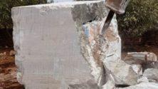 Quand les narcotrafiquants Marocains innovent: Du cannabis encastré dans du marbre !