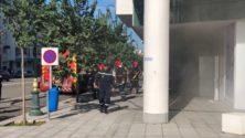 Un incendie vient de se déclarer à Arribat Center…