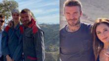 La famille Beckham profite de ses vacances à Marrakech