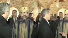 Vidéo: Quand Gad El Maleh salue le Roi Mohammed VI à Essaouira…