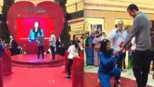 Vidéo: Une influenceuse marocaine redemande en mariage son époux en plein public à Casablanca