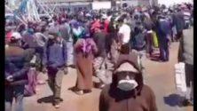 En plein confinement, des citoyens affluent en masse au port de pêche de Casablanca