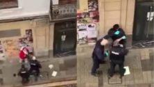 Vidéo: Agression abusive d'un MRE et de sa mère en Espagne